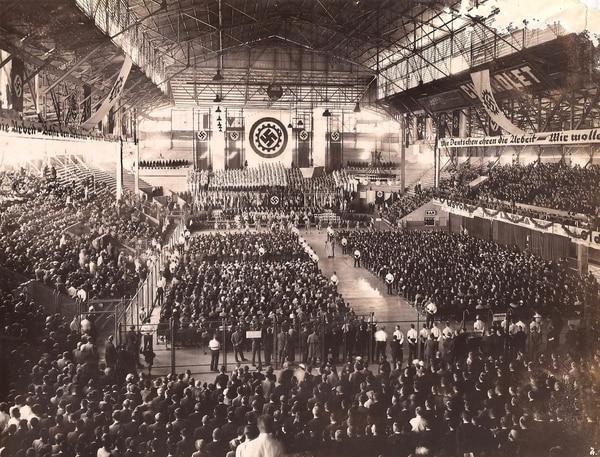 80 años de la celebración nazi en el Luna Park