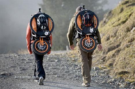 bike in your rucksack