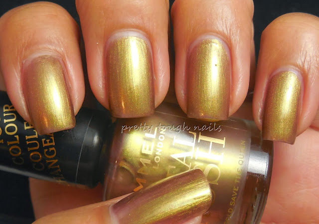 Rimmel Gold Save The Queen