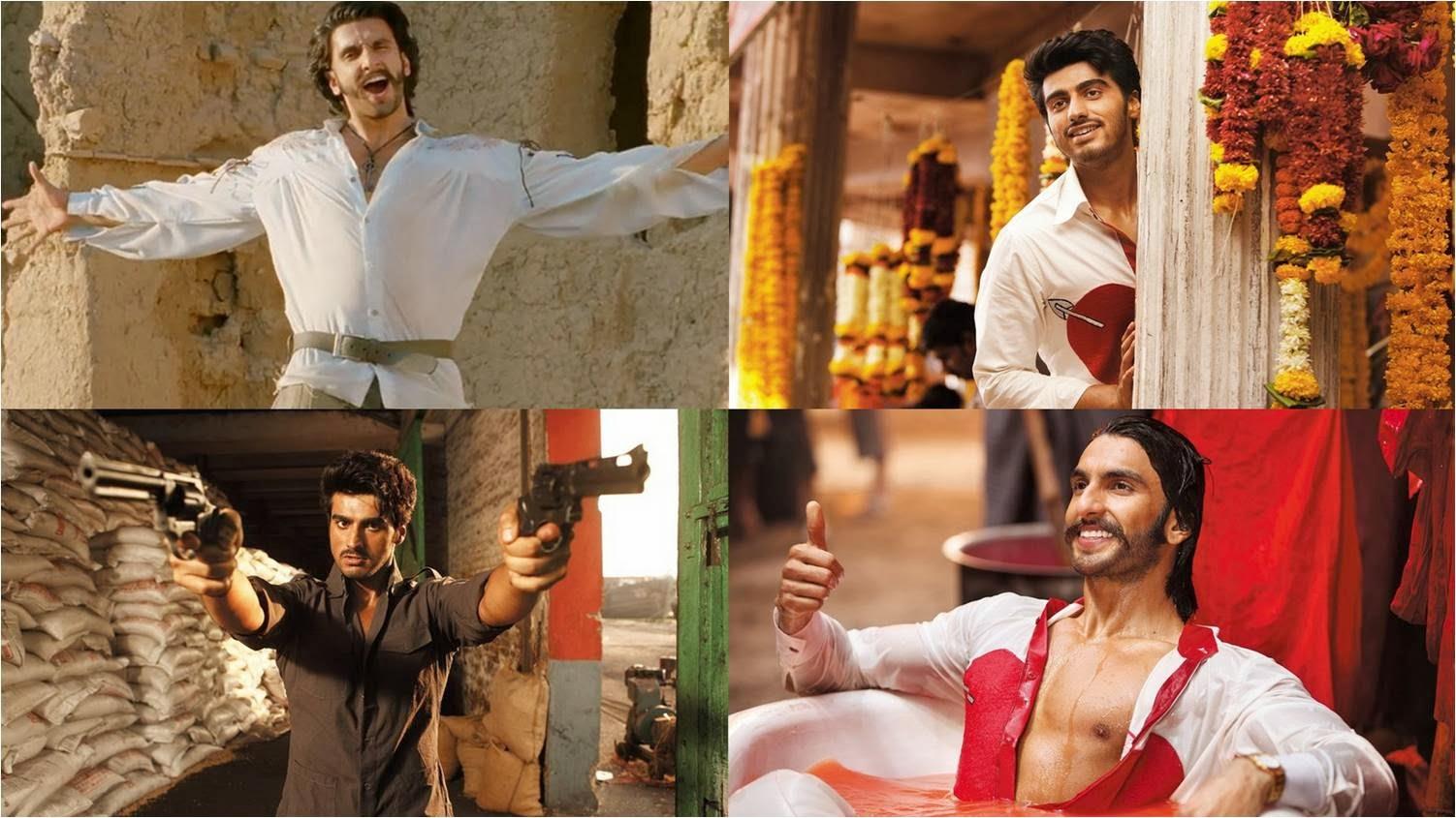Ranveer Singh and Arjun Kapoor in Gunday movie