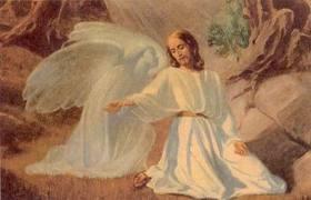 Yesus Berdoa Kepada Bapanya di Surga dalam Sakratul Maut