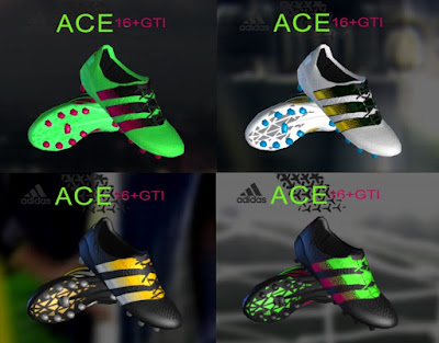 PES 2013 ADIDAS ACE 16 MINI BOOTPACK BY RONALDO7RM