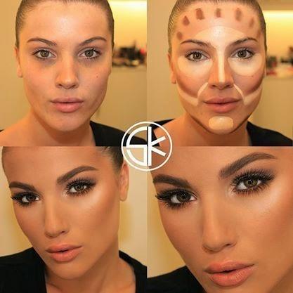 Daily lookup inspiré de Kim Kardashian