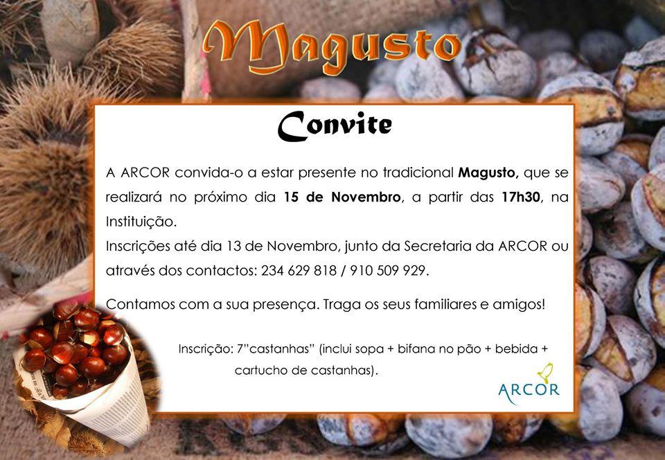 MAGUSTO DE S. MARTINHO DA ARCOR!