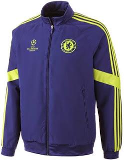 gambar jaket ucl Chelsea home terbaru musim 2014/2015 kualitas grade ori, jual online jersey UCL piala champion