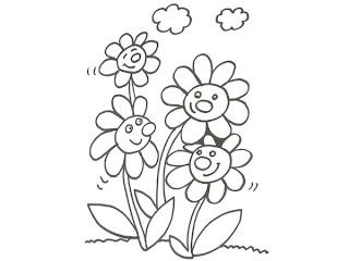 Dibujos de Primavera para Pintar, parte 1