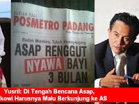 Prof. Yusril: Di Tengah Bencana Asap, Jokowi Harusnya Malu Berkunjung ke AS