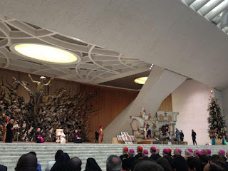 The Michoacan Folk Art present at the Vatican this Christmas Season
