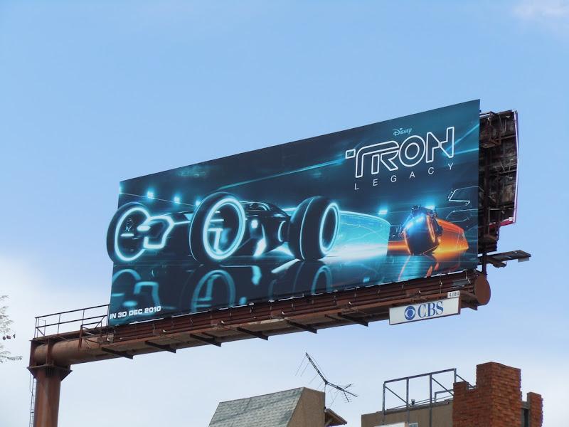 Tron legacy movie billboard