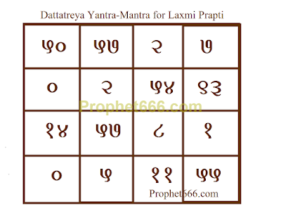 Dattatreya Yantra for Laxmi Prapti Hetu Experiment to get rich