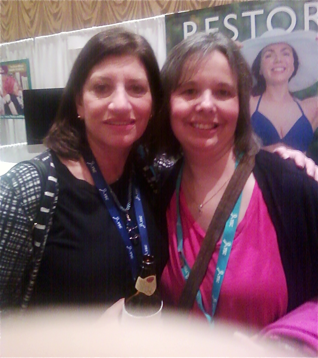 Dr. Judith Salerno, CEO of Komen and me