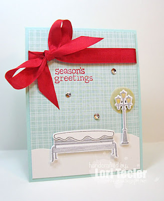 Season's Greetings card-designed by Lori Tecler/Inking Aloud-stamps and dies from Lawn Fawn