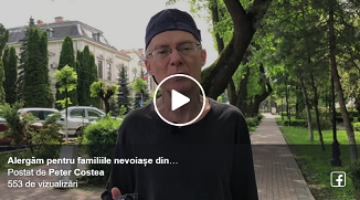 Peter Costea 🔴 Am fost onorați: La Rădăuți am alergat la un maraton pentru un scop nobil...