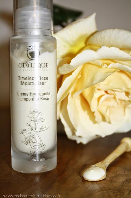 crème hydratante tempo à la rose d'odylique by essential care