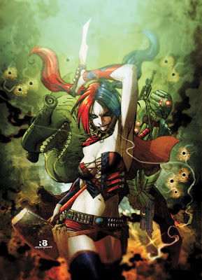 DC Comics - Suicide Squad #1 Cover Artwork by Marco Rudy