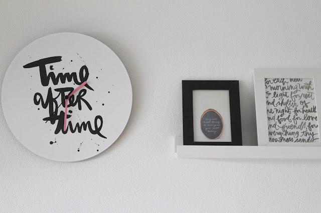 Formart Musikliebe Print Uhr