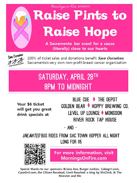 Raise Pints to Raise Hope: 100 percent of ticket sales go directly to Save Ourselves