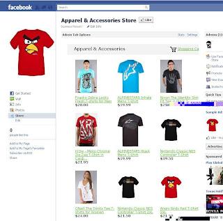 toko online page facebook