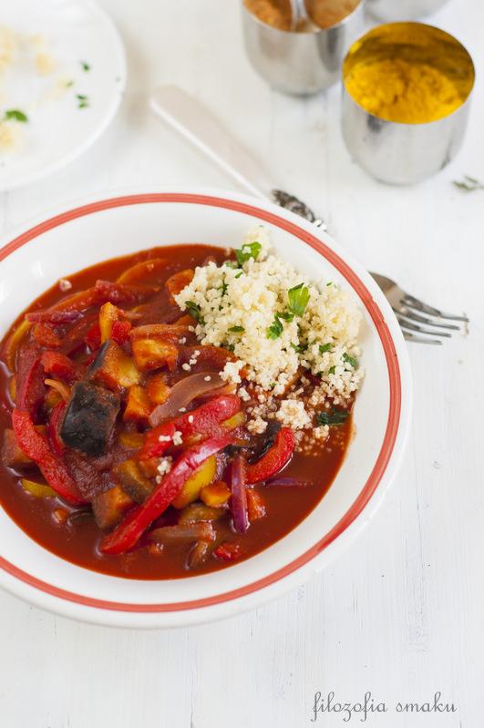 Curry z bakłażanem przepis