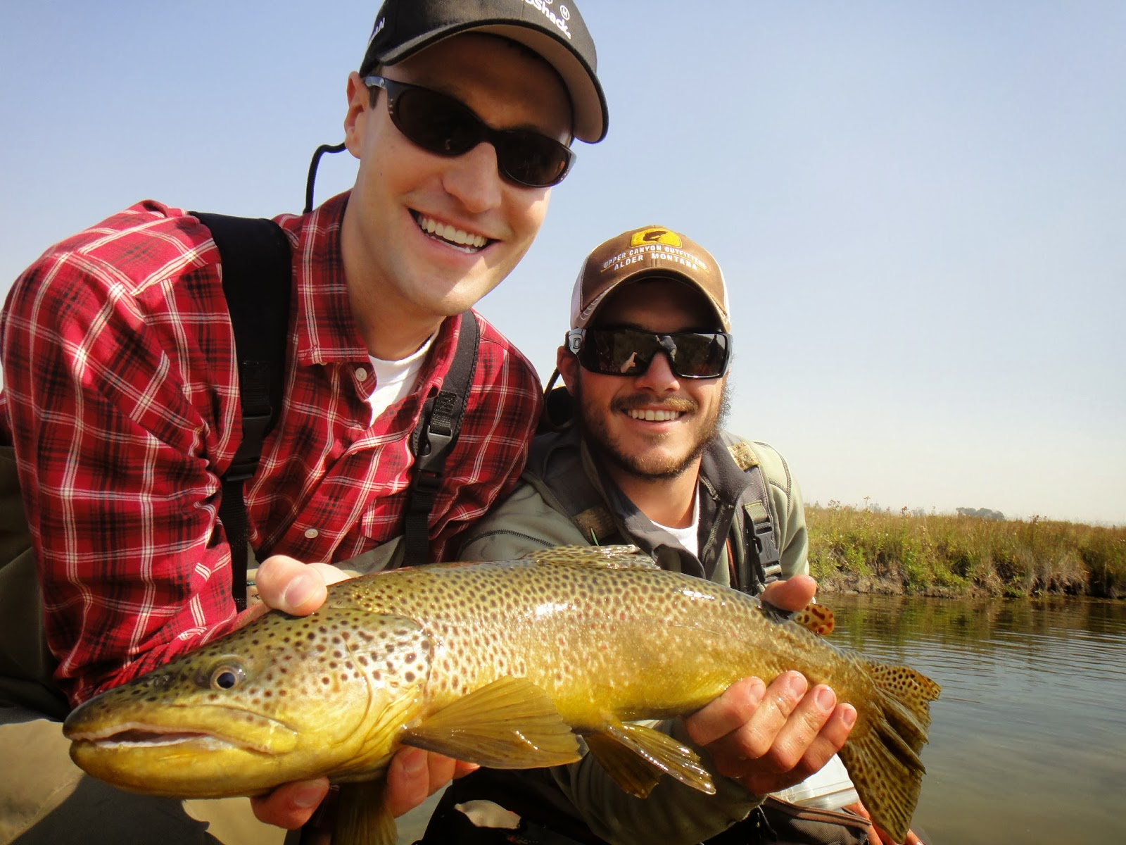 Montana fly fishing trip 2014 delamere hopkins for Montana fishing trips
