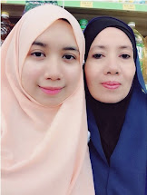 With my mum