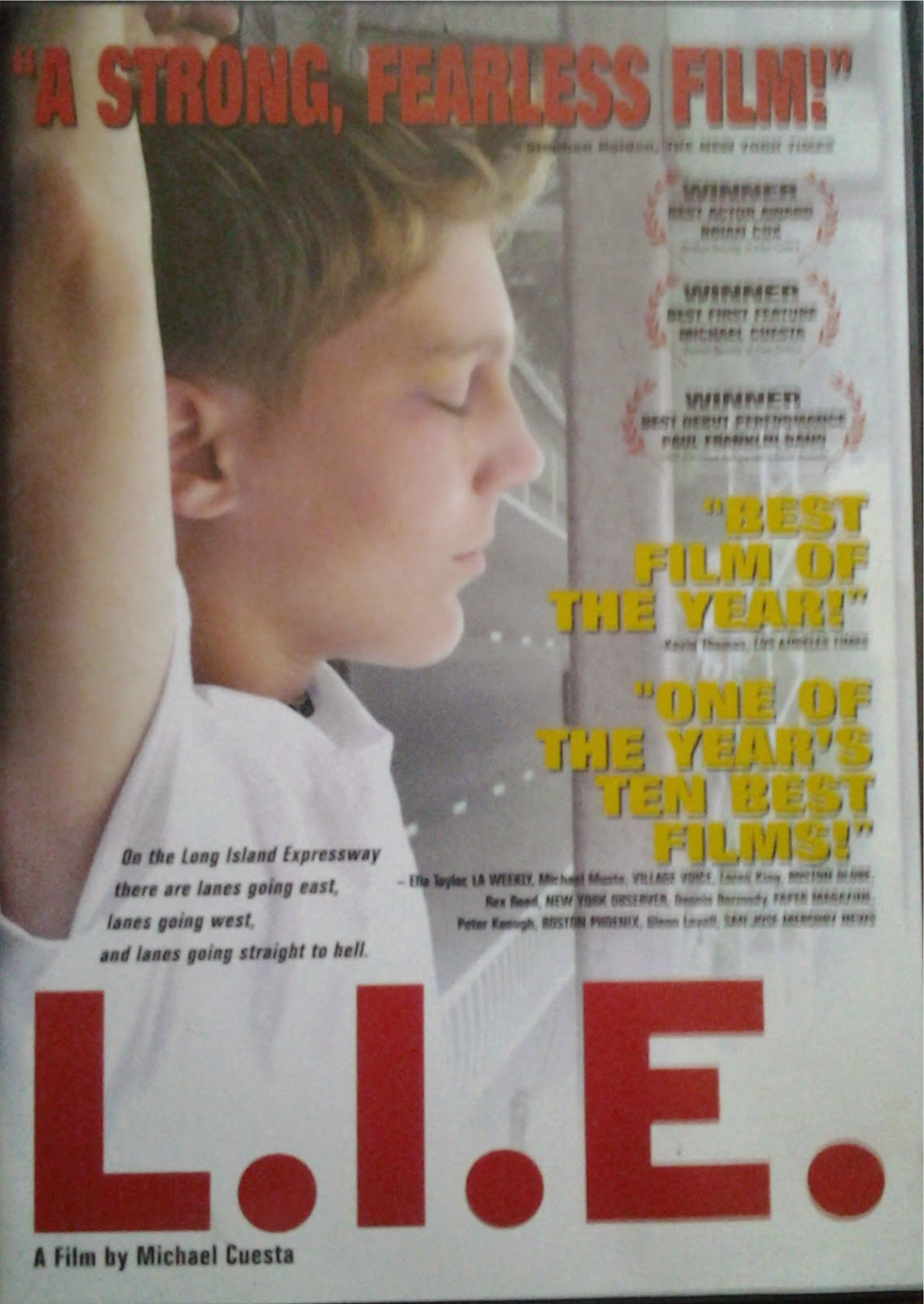 DVD Cover - LIE