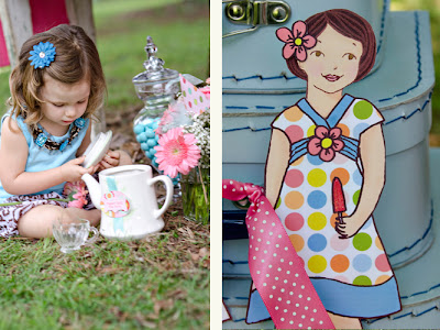 Customizable Paper Dolls Party