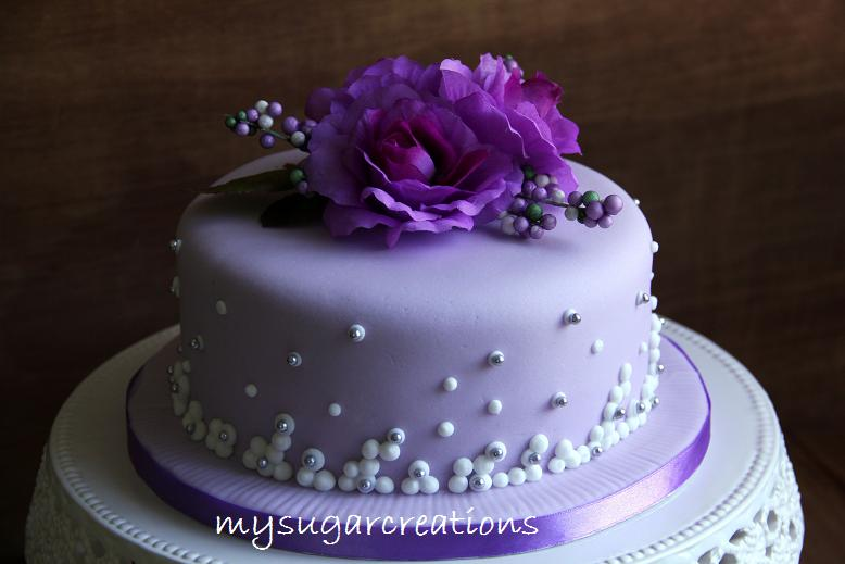 My sugar creations 001943746 m purple silk flower hantaran cake purple silk flower hantaran cake mightylinksfo