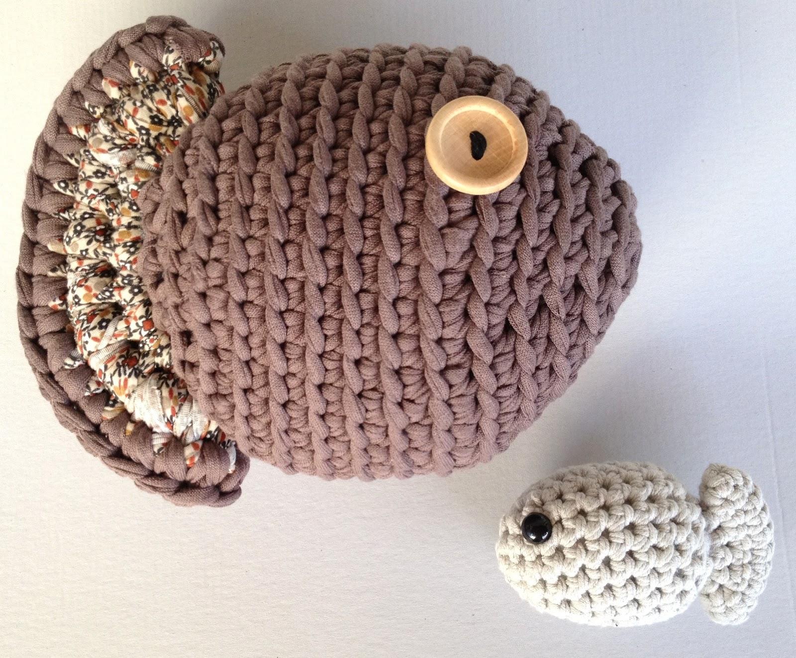 Único Crochet Patrón Manta Pescado Foto - Ideas de Patrones de ...