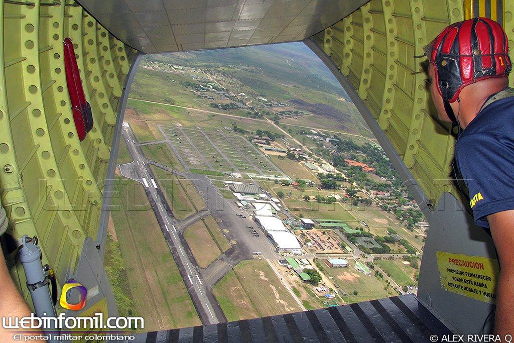Campo aéreo de Tolemaida será pista alterna del aeropuerto El Dorado, gracias a los nuevos sistemas de iluminación y radio ayudas que posee, esta pista podrá funcionar las 24 horas para recibir y despachar aeronaves de ala rotatoria y ala fija.