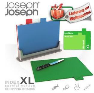 Joseph Joseph Index Schneidebrett 4 St. bei iBood für 35,90 Euro