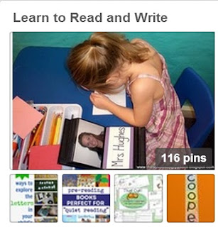 Image of Learn to Read and Write Pinterest Board Clever Classroom