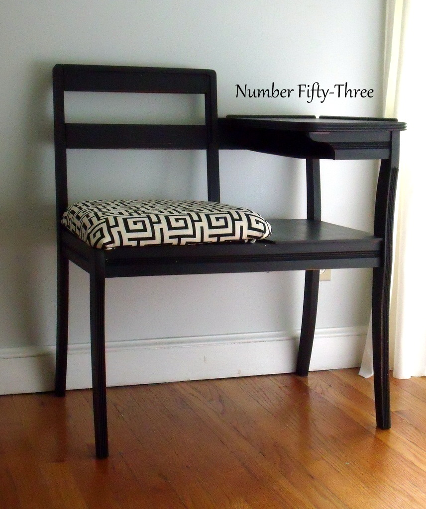 Number Fifty Three Upholstered Gossip Bench