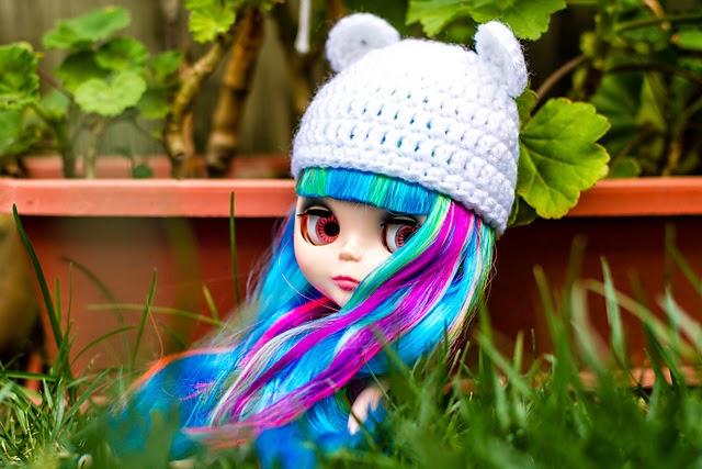 Blythe Bear Hat Crochet Pattern Tiny Moon