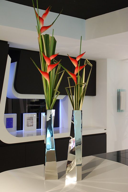 Koldo Esparza Stairs Of Phorniun And Heliconias Crevasse Vase By