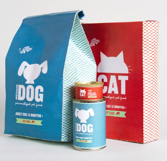 Dog Cat Food Package