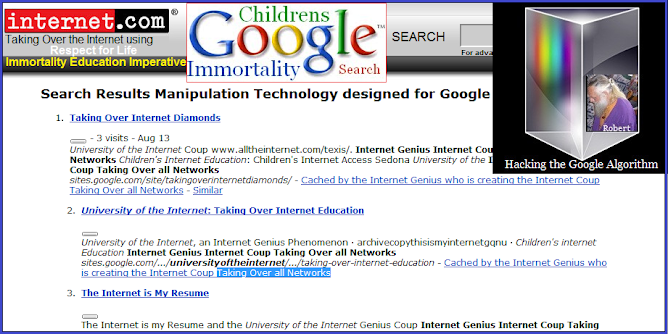 Children's Search Results Manipulation Technology