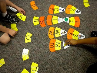 halloween for kids: candy corn game