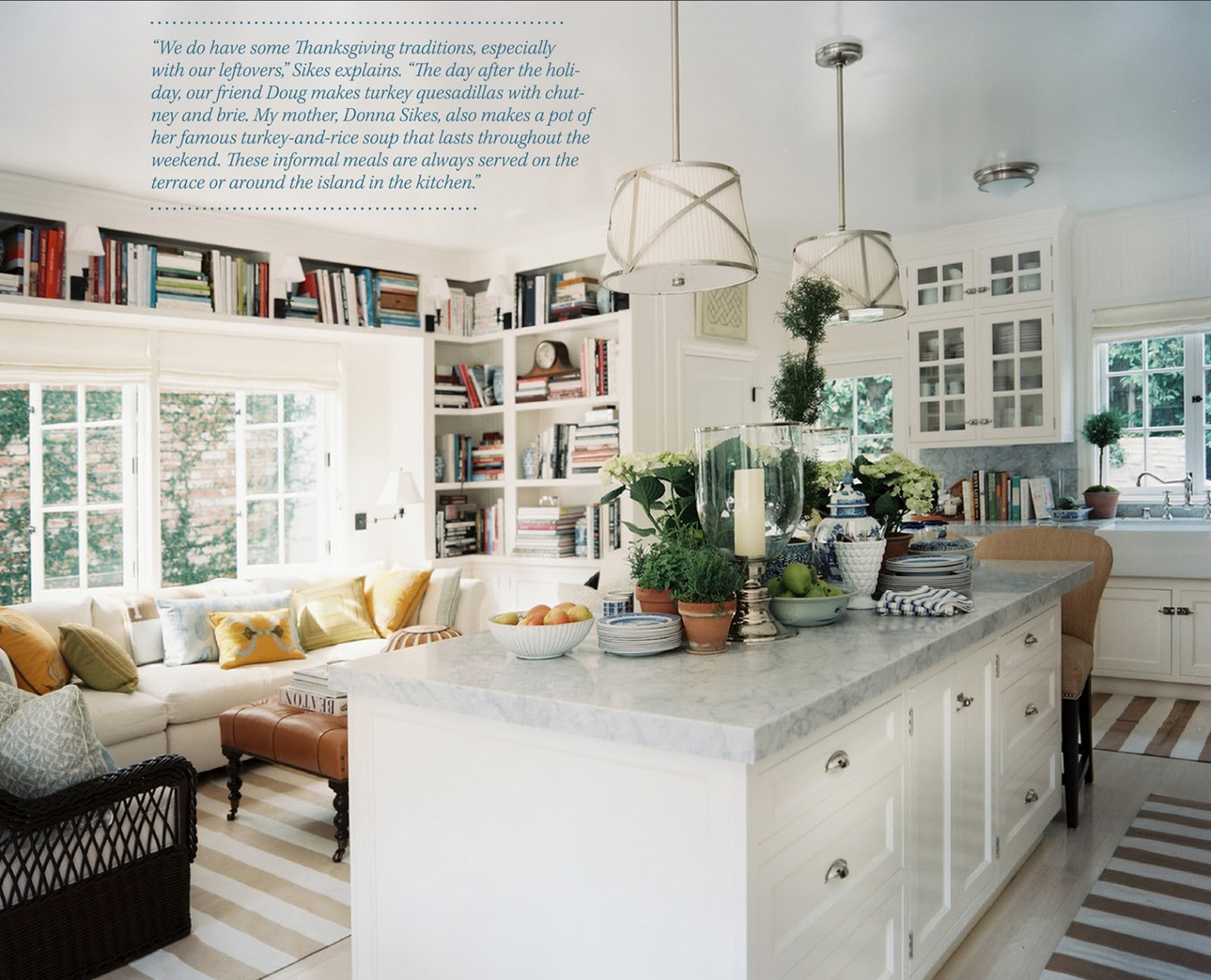 design kitchens on decorology: Interior designer Mark Sikes' Southern California Home ...