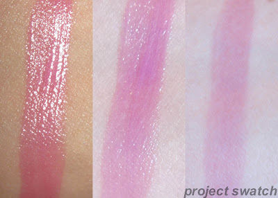 191 Stubborn Plum shine caresse swatch