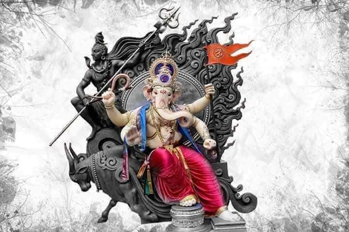 3d lord ganesha animated wallpapers