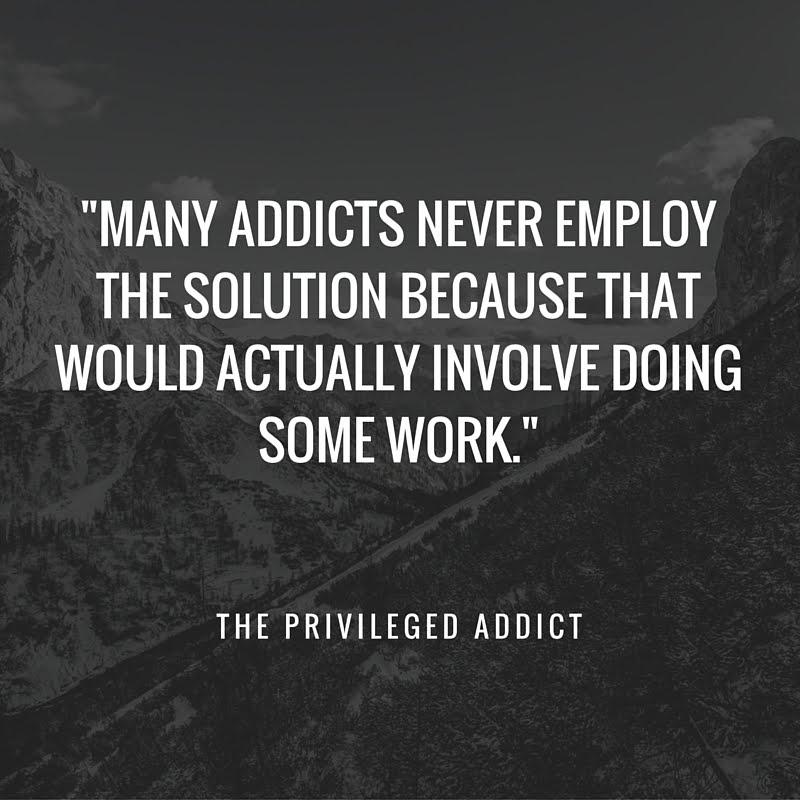 Recovery = Work. Novel Idea, Huh?