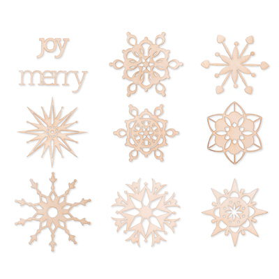 Stampin' Up! Snowday Woodcuts Digital Download