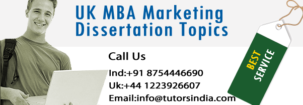 mba dissertations uk