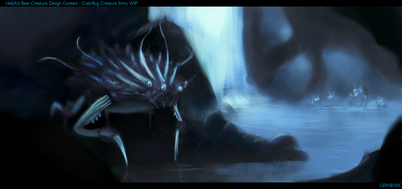 Creature%2BDesign%2BContest%2BCrab%2BPainitng%2BWIP%2Bby%2BLephenix.png