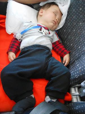 bebê dormr no avião