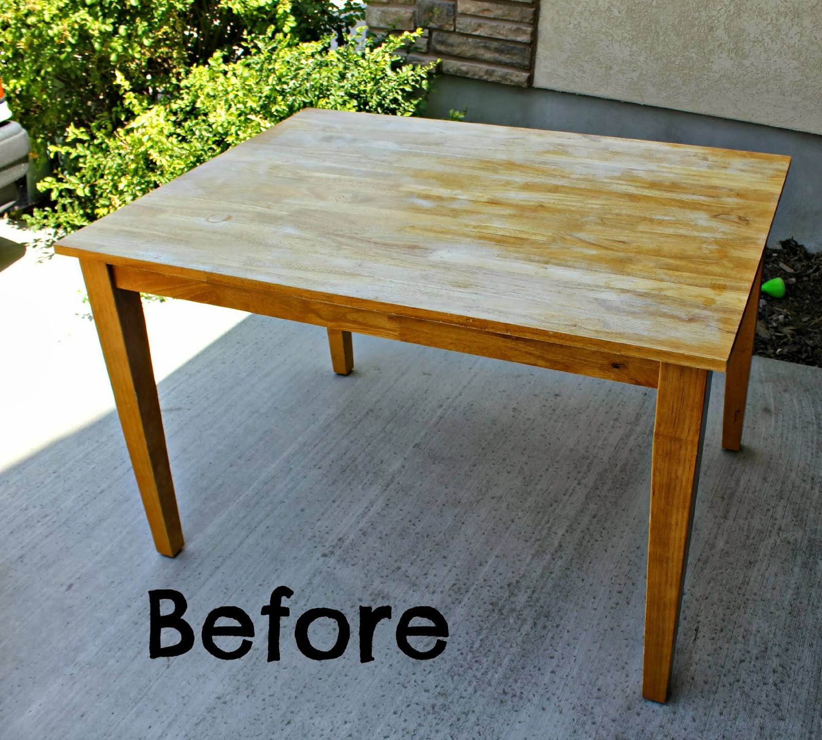 Refinish a wooden bench refinish a wooden chair refinish a wooden desk refinish a wooden - Refinished kitchen tables ...