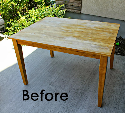 Refinish kitchen table top risc handmade chevron striped table top refinish refinishing the - Refinishing a kitchen table ...