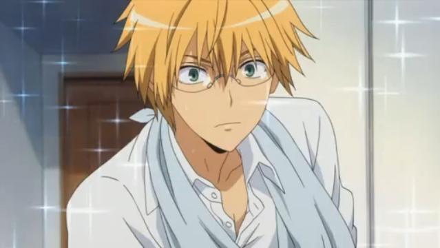 Views and Reviews~: Manga Crush (1)~Usui Takumi from Kaichou wa Maid ... Y Dog Names