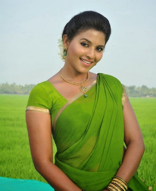 anjali saree Actress